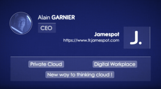 Jamespot - video testimonial